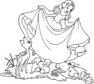 Snow White Coloring Page 030