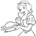 Snow White Coloring Page 081