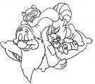 Snow White Disney Sleepy Coloring Page 01