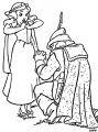 Snow White Evil Queen Witch And Huntsman Coloring Page 04