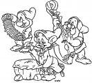 Snow White The Seven Dwarfs Coloring Page 06