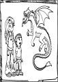 Some Fan Chars Of American Dragon Free A4 Printable Coloring Page