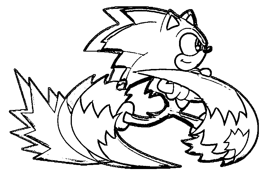 Sonic The Hedgehog Coloring Page WeColoringPage 079