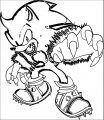 Sonic The Hedgehog Coloring Page WeColoringPage 284