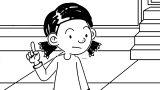 Speaking Cartoon Kids Coloring Page 23