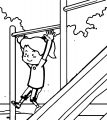 Speaking Cartoon Kids Coloring Page 44