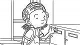 Speaking Cartoon Kids Coloring Page 52