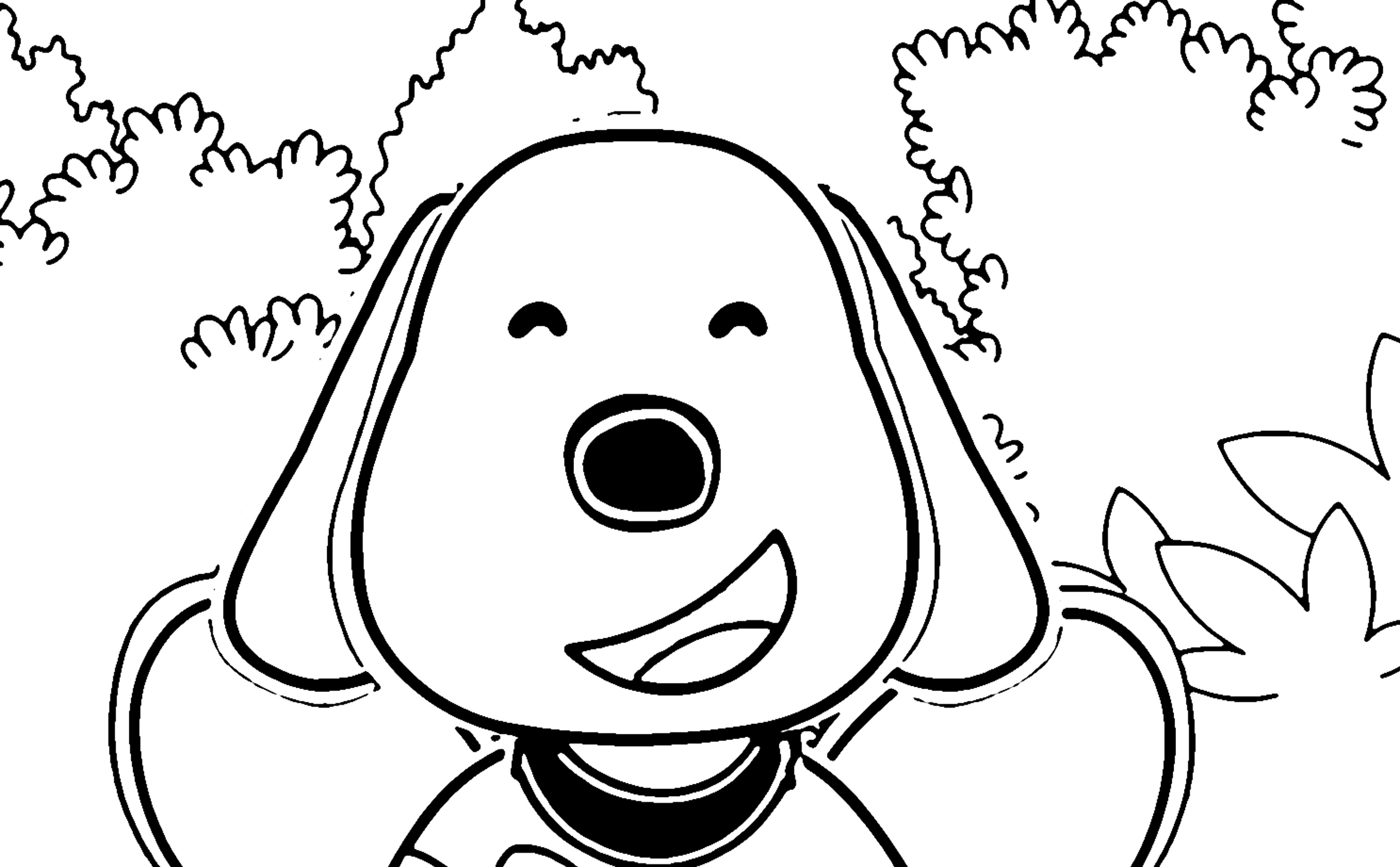 Speaking Cartoon Kids Coloring Page 64