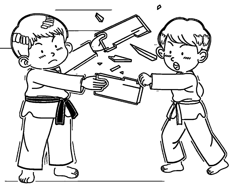 Speaking Cartoon Kids Coloring Page 69