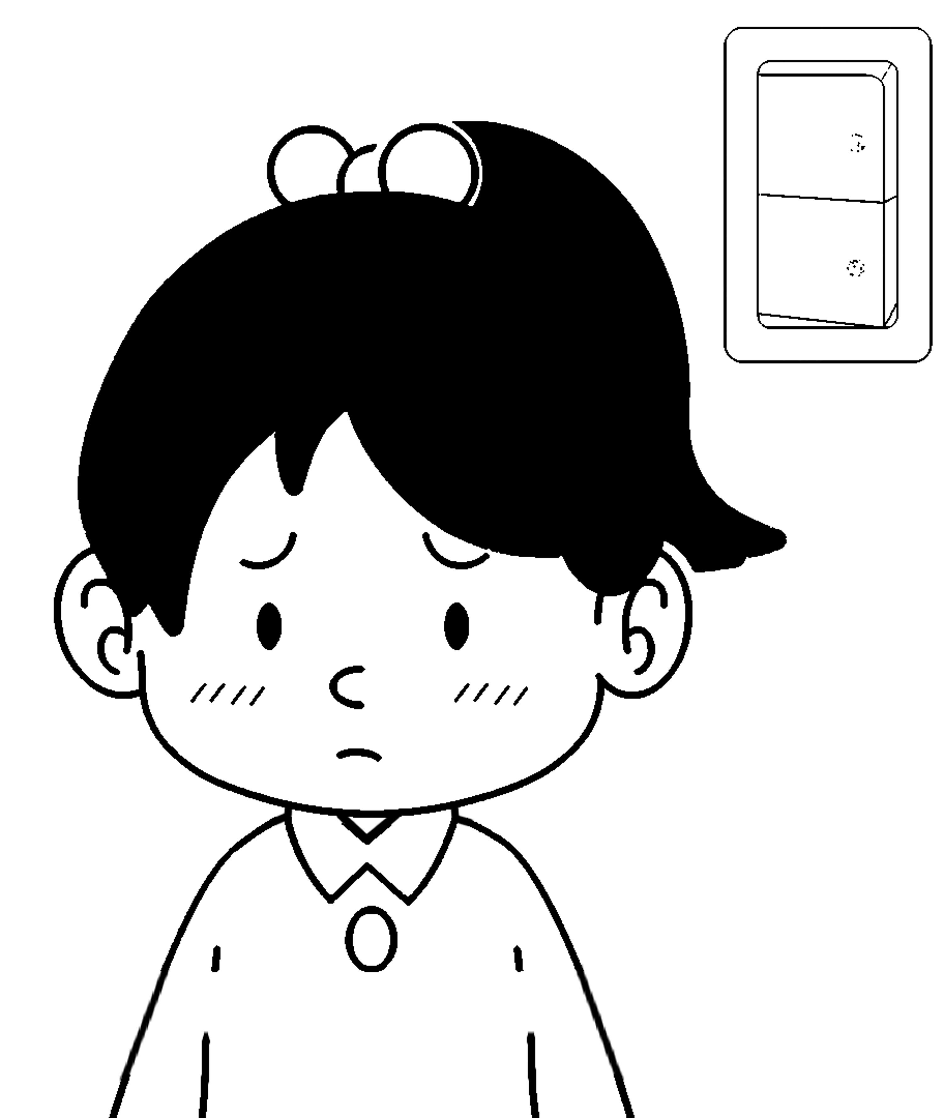 Speaking Cartoon Kids Coloring Page 81