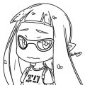 Squid Girl Coloring Page 249