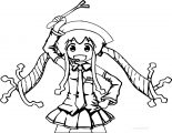 Squid Girl Coloring Page 26