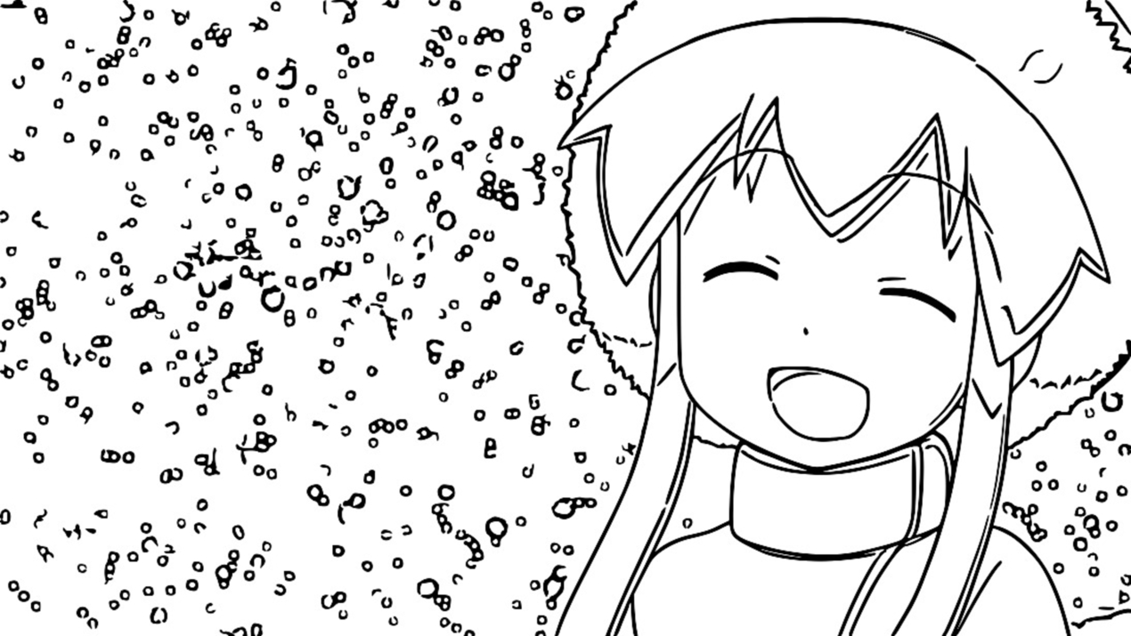 Squid Girl Coloring Page 43