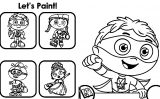 Super Why Coloring Page  08