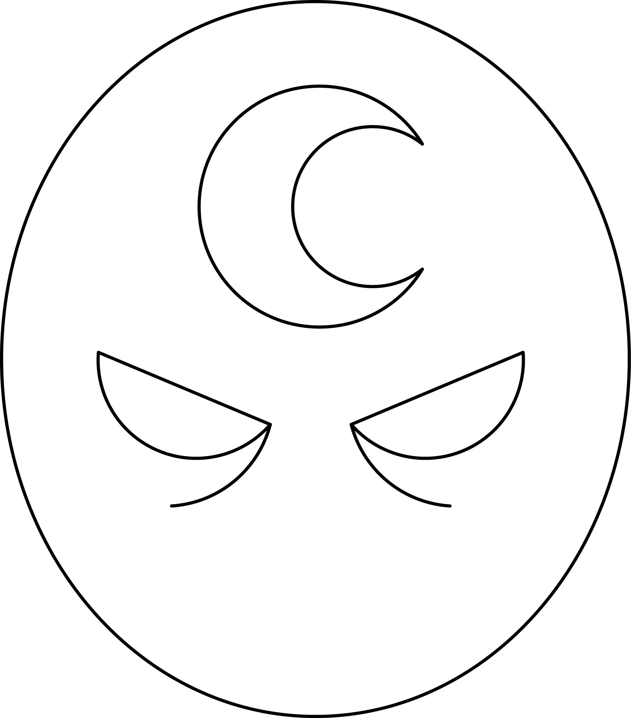 Superhero face coloring page 05