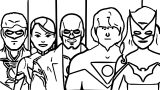 Superheroes Super Hero Coloring Page 052