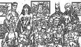 Superheroes Super Hero Coloring Page 098