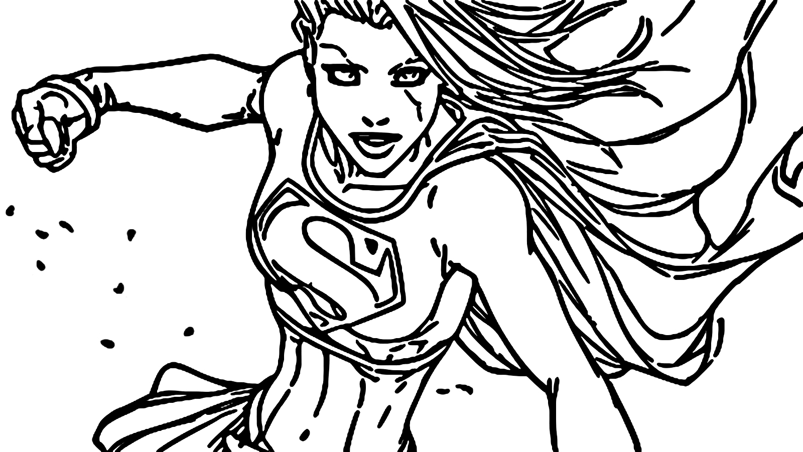 Superheroes Super Hero Coloring Page 110