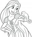 Tangled Coloring Page 03