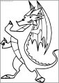 The 2nd American Dragon Free A4 Printable Coloring Page