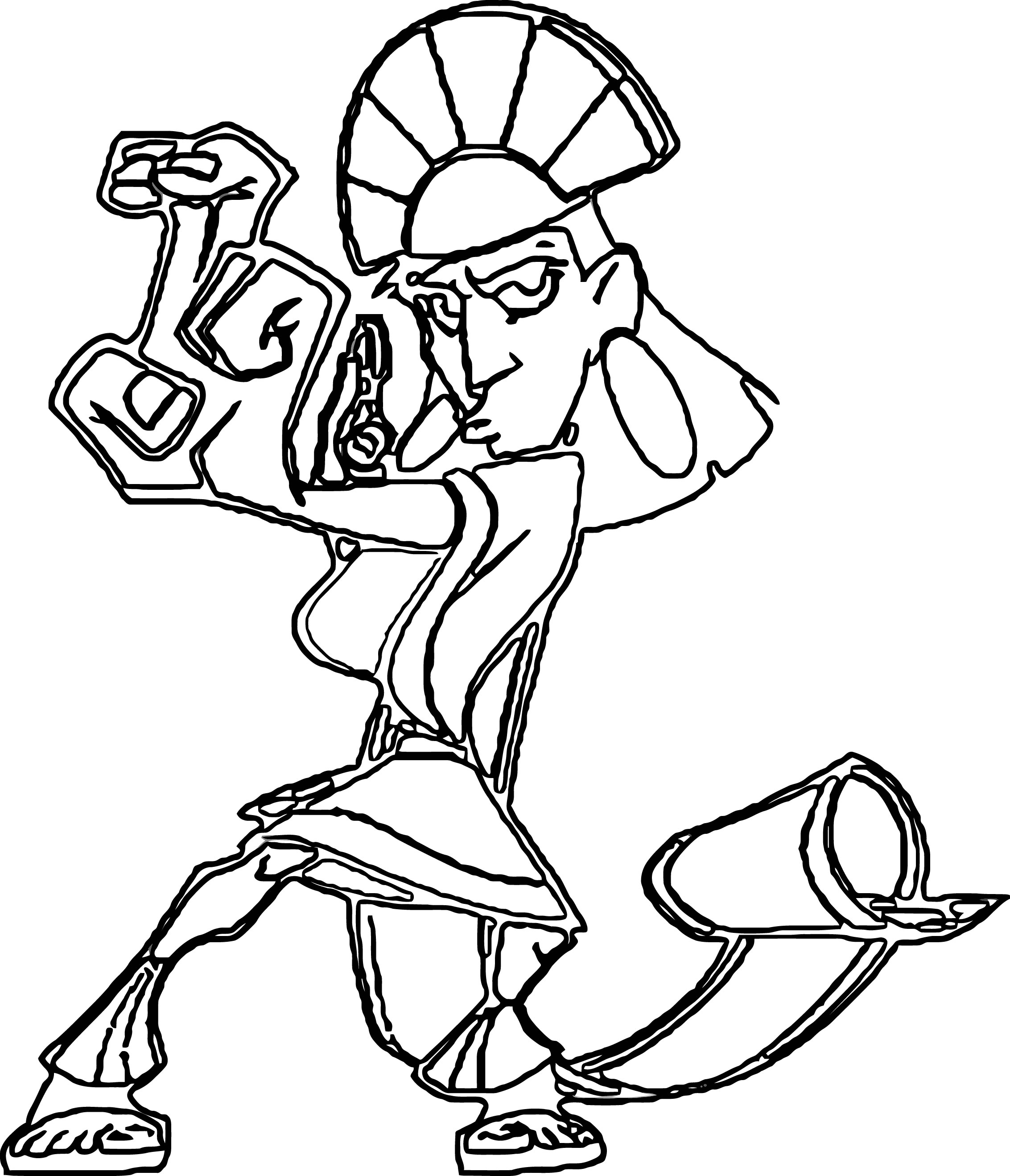 The Emperor s New Groove Clip Art Images Disney Coloring Pages 01