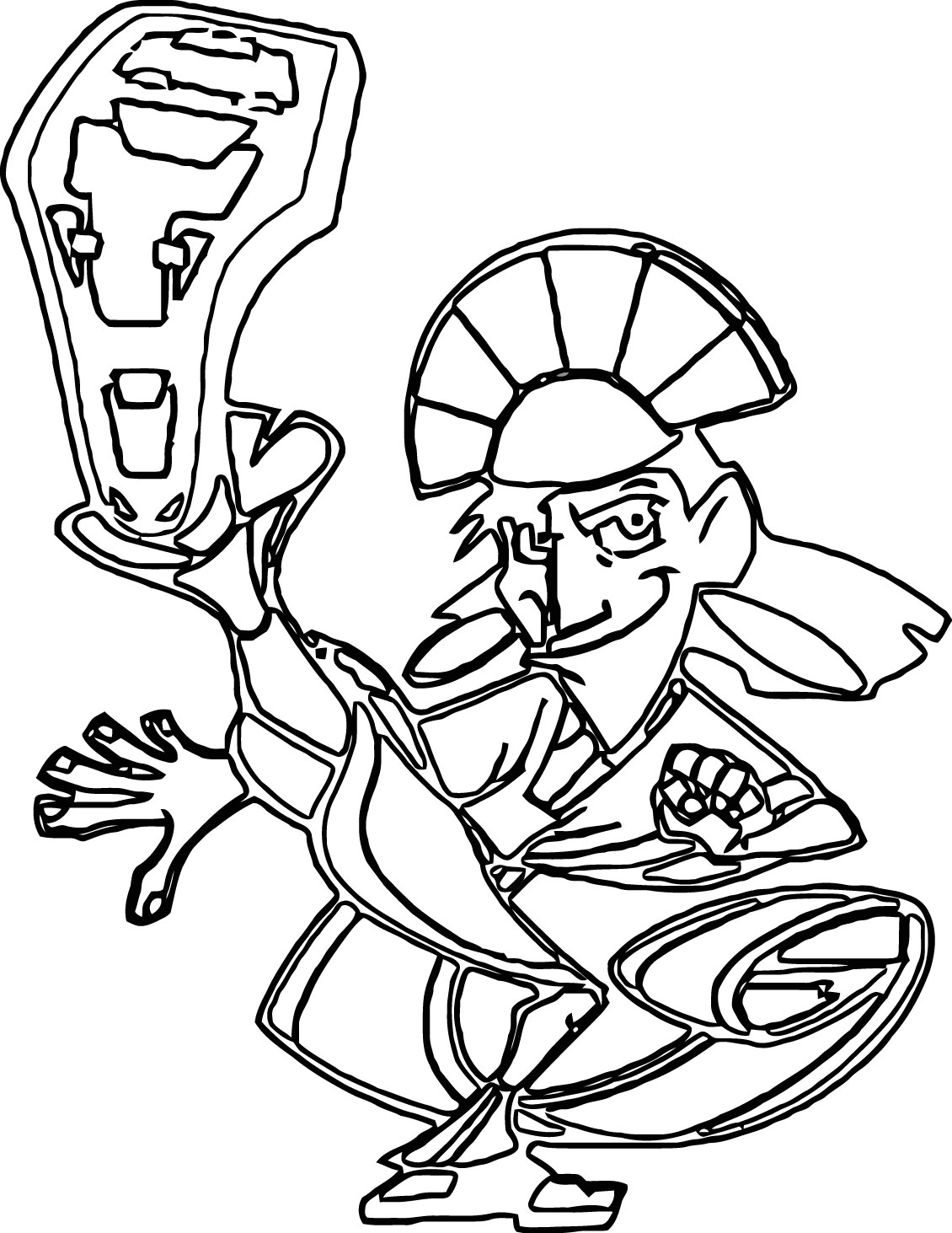 The Emperor s New Groove Clip Art Images Disney Coloring Pages 03