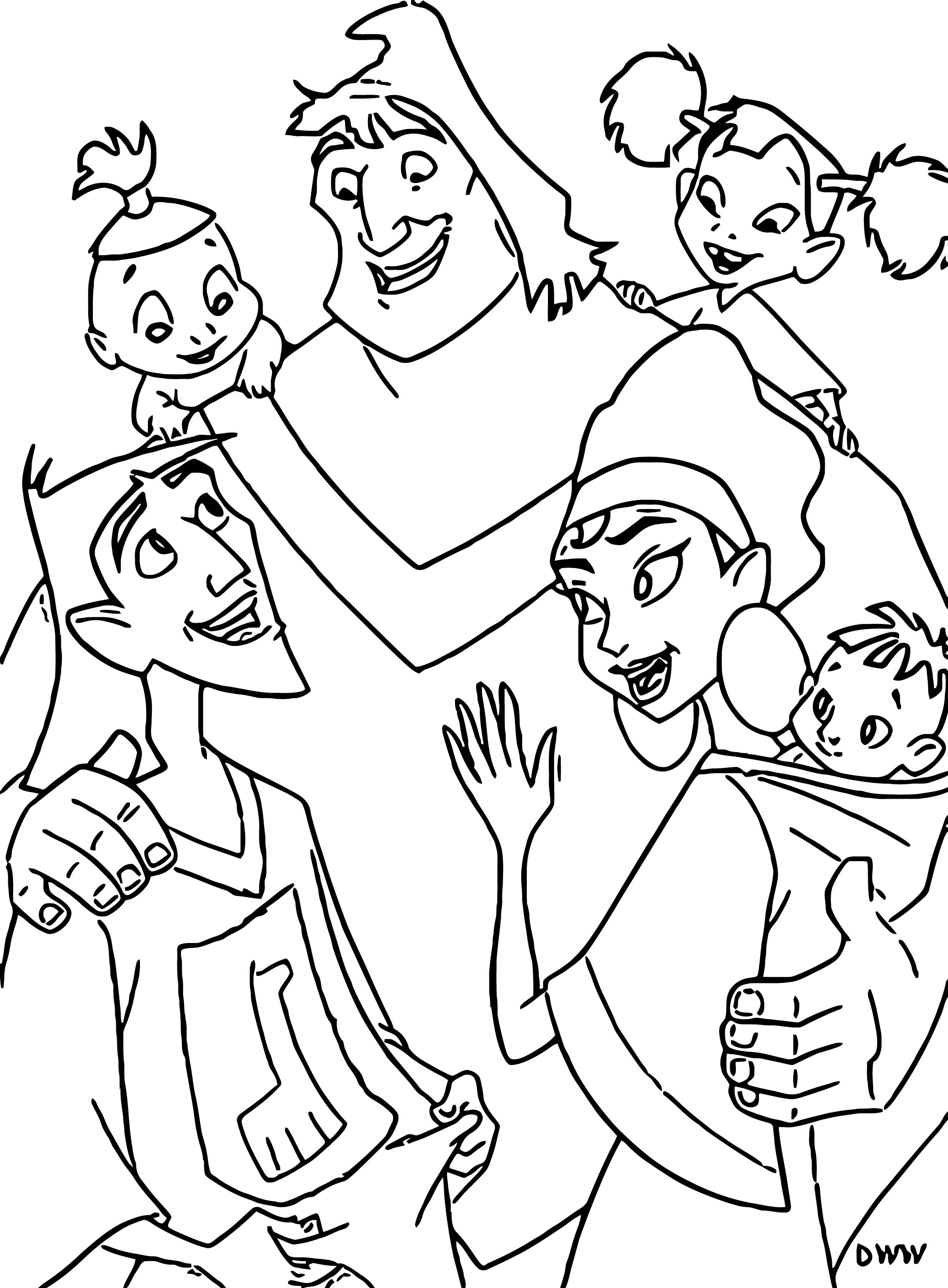 The Emperor s New Groove Clip Art Images Disney Coloring Pages 09