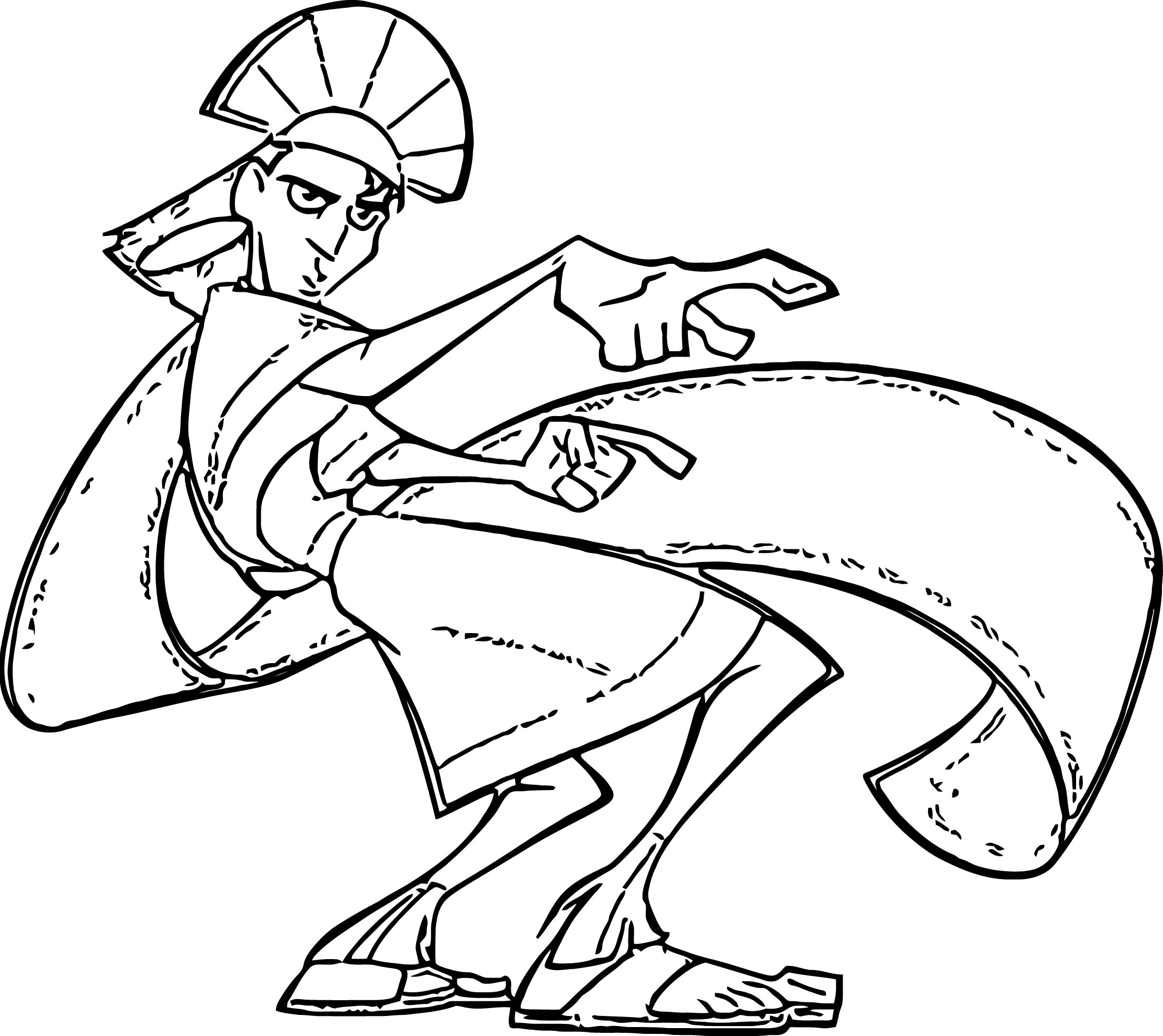 The Emperor s New Groove Clip Art Images Disney Coloring Pages 15