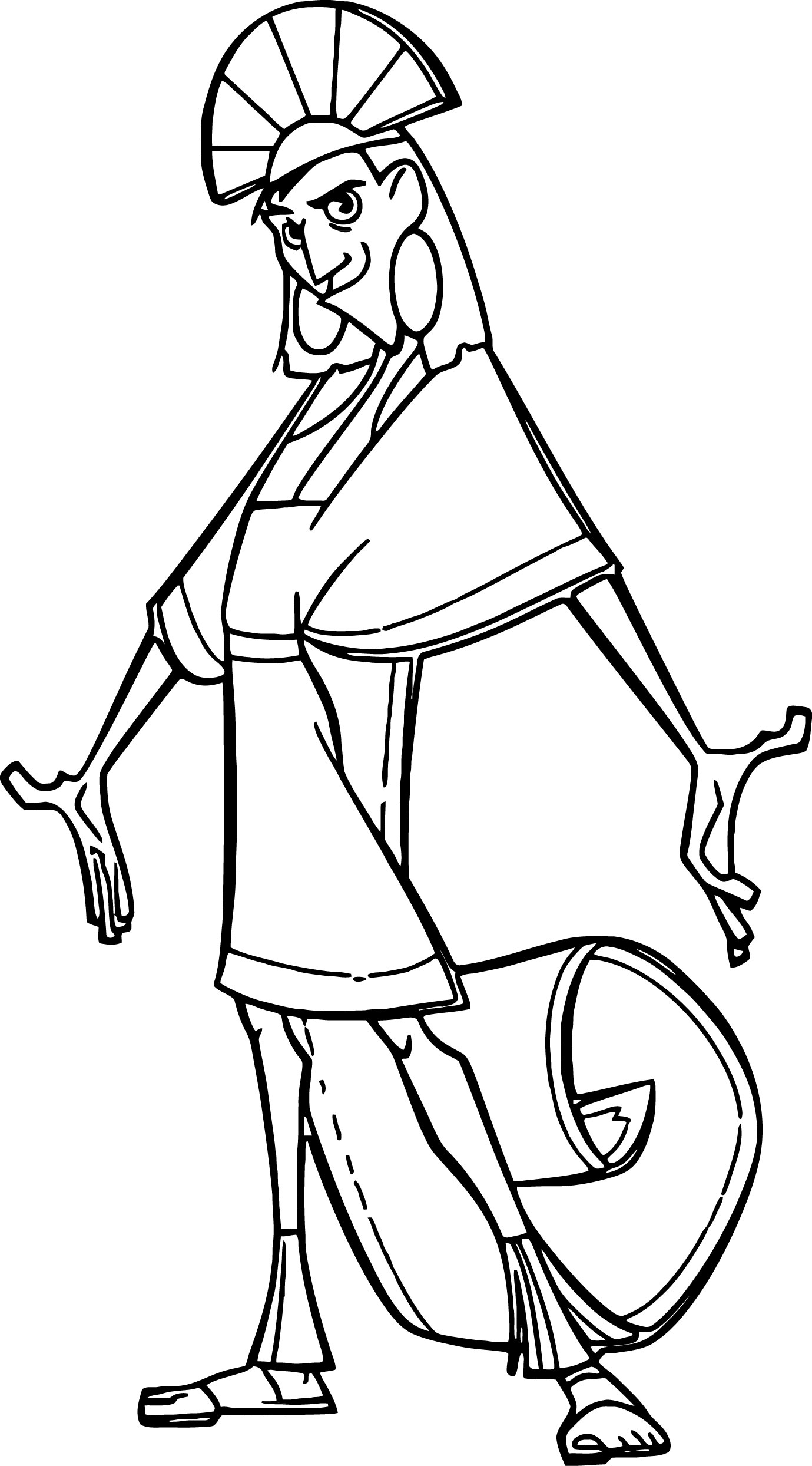 The Emperor s New Groove Clip Art Images Disney Coloring Pages 16