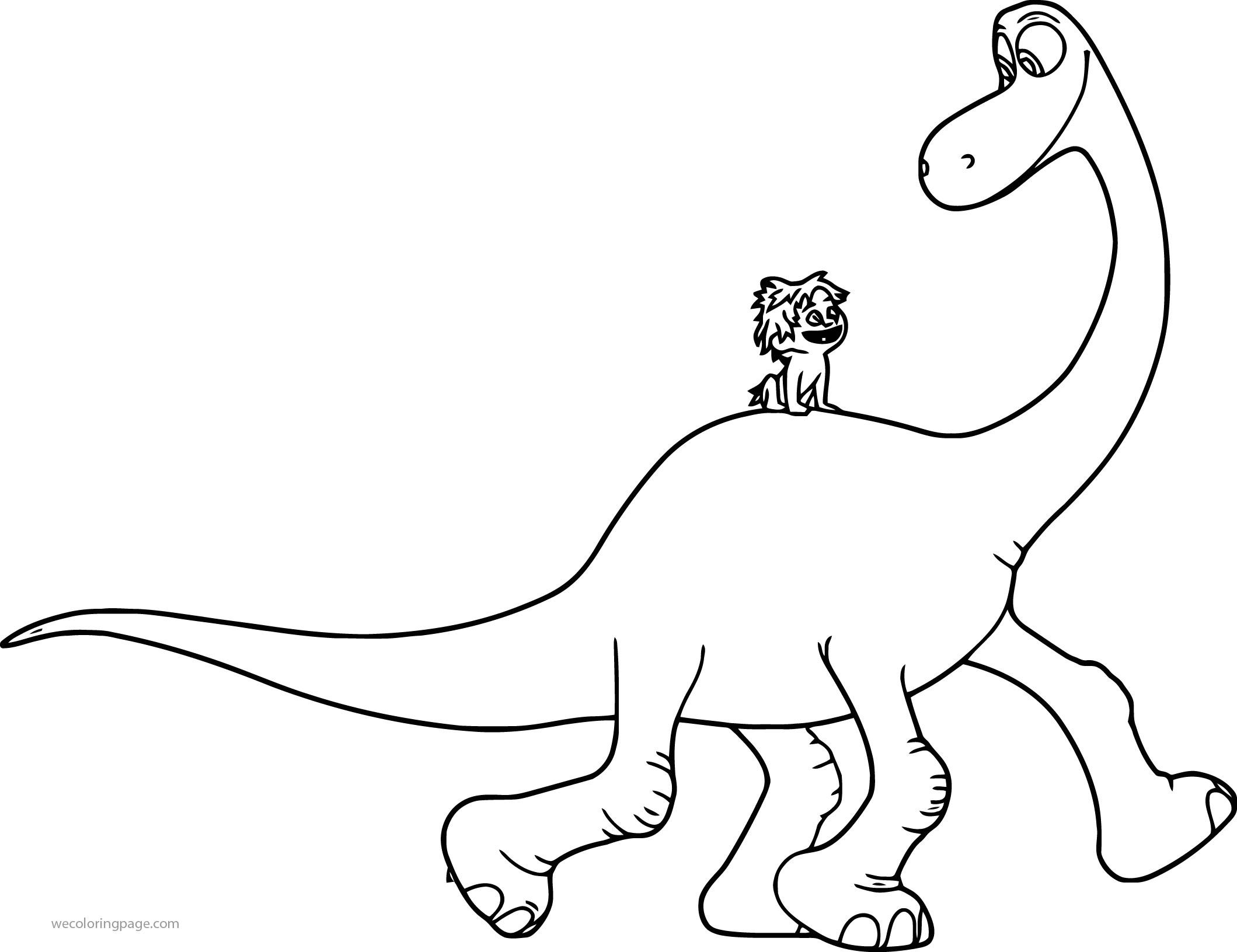 The Good Dinosaur Disney Arlo Spot Go Cartoon Coloring Pages
