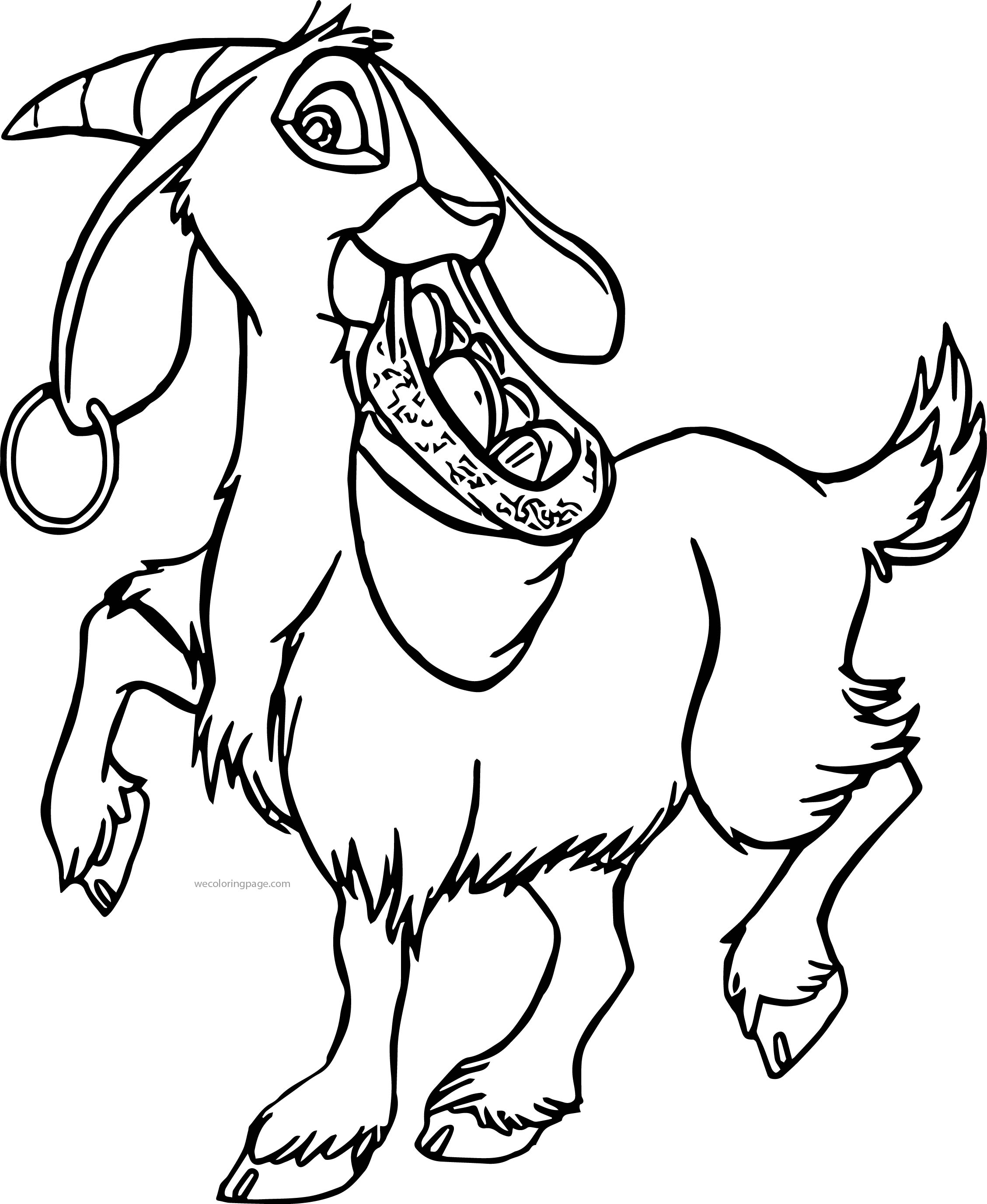 The Hunchback Of Notre Dame Djali Coat 3 Cartoon Coloring Pages