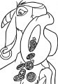 The Hunchback Of Notre Dame Djali Coat 5 Cartoon Coloring Pages