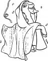 The Hunchback Of Notre Dame Djali Coat 9 Cartoon Coloring Pages