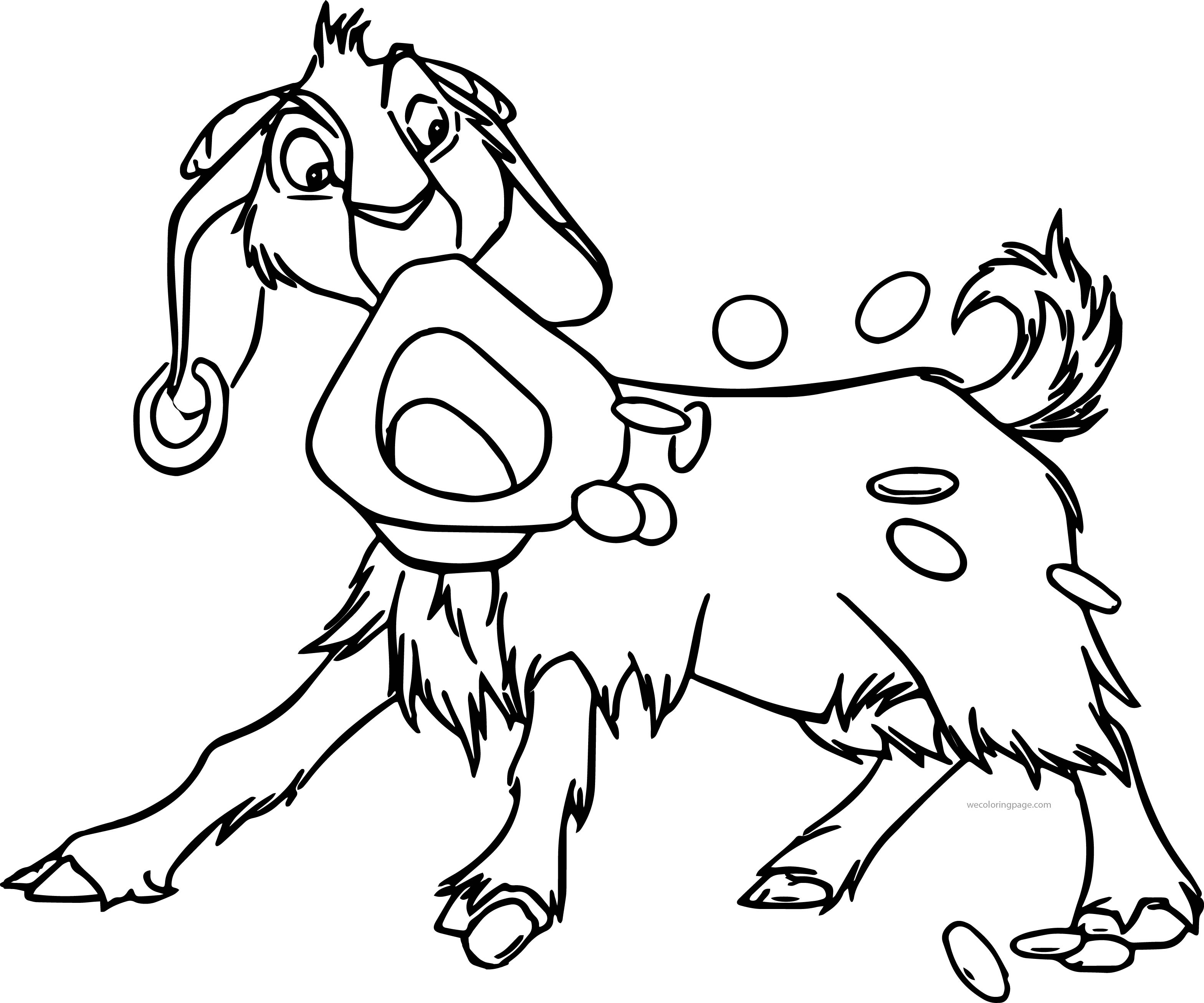 The Hunchback Of Notre Dame Dropcoins Cartoon Coloring Pages