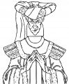 The Hunchback Of Notre Dame Frollo3 Cartoon Coloring Pages