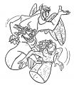 The Hunchback Of Notre Dame Gargoyles Cartoon Coloring Pages