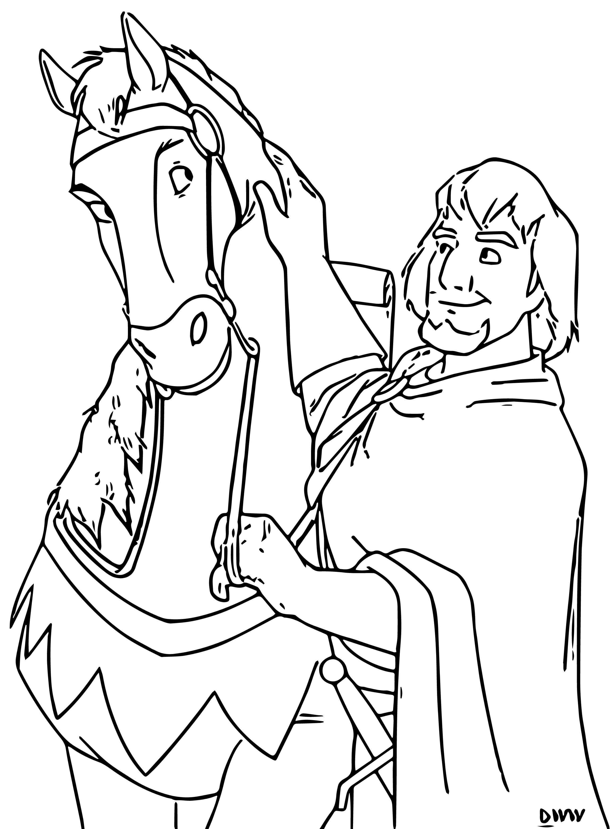 The Hunchback Of Notre Dame Hfr3 Cartoon Coloring Pages