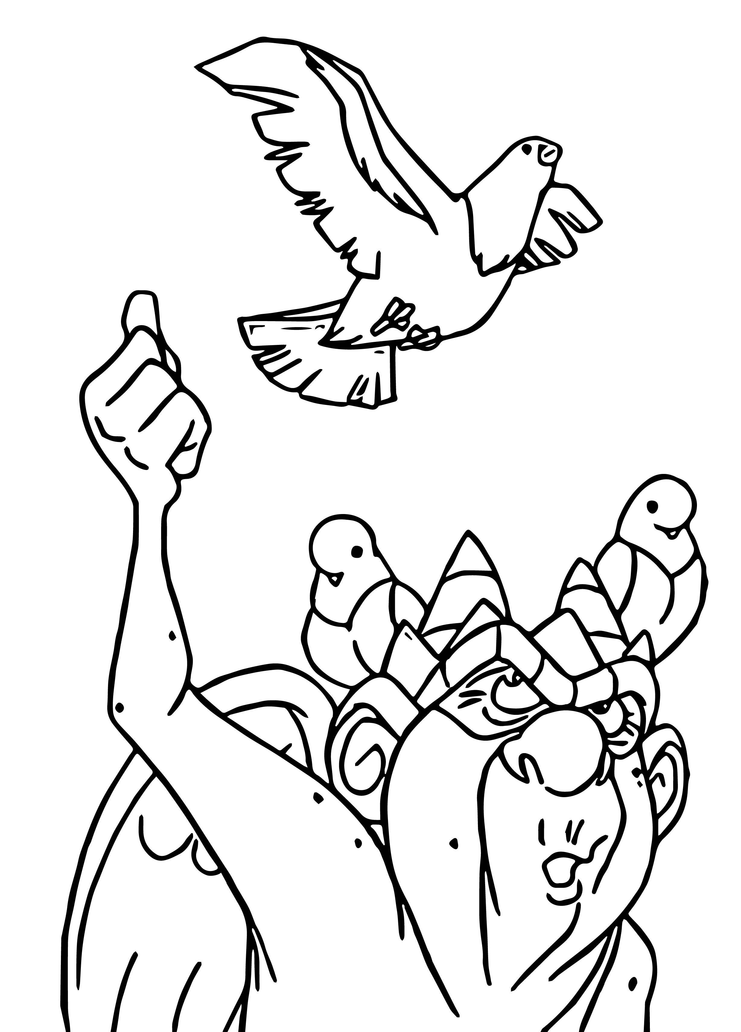 The Hunchback Of Notre Dame Labirds Cartoon Coloring Pages