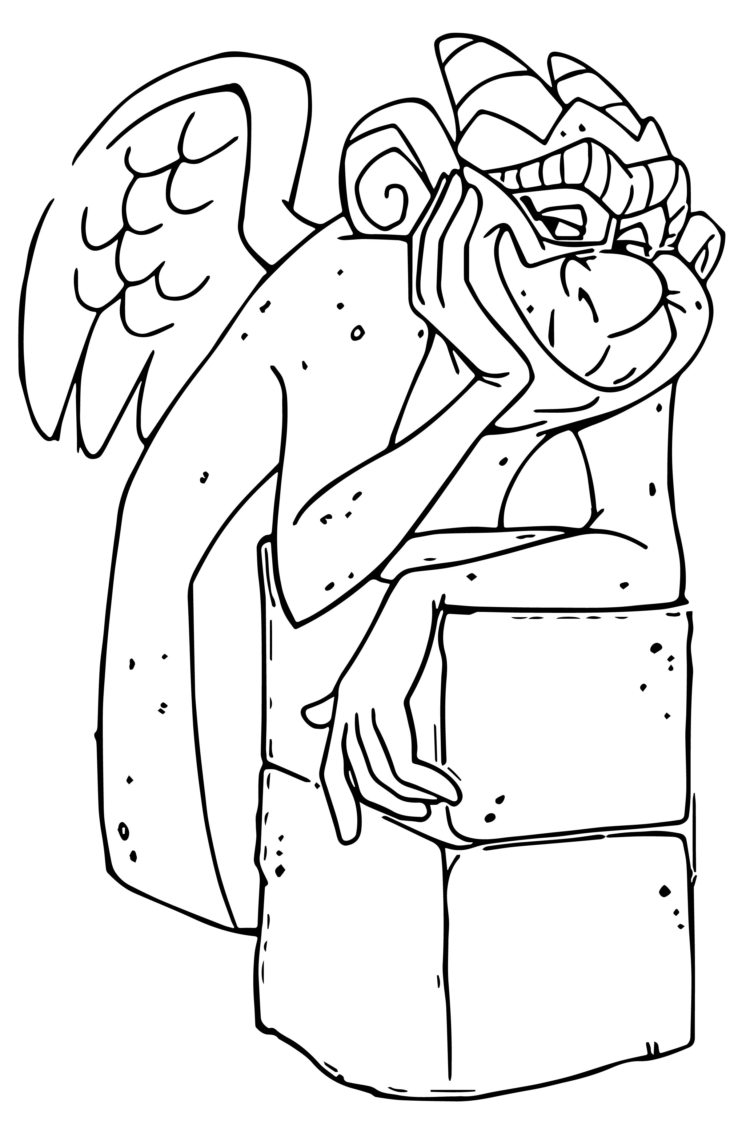 The Hunchback Of Notre Dame Laverne21 Cartoon Coloring Pages
