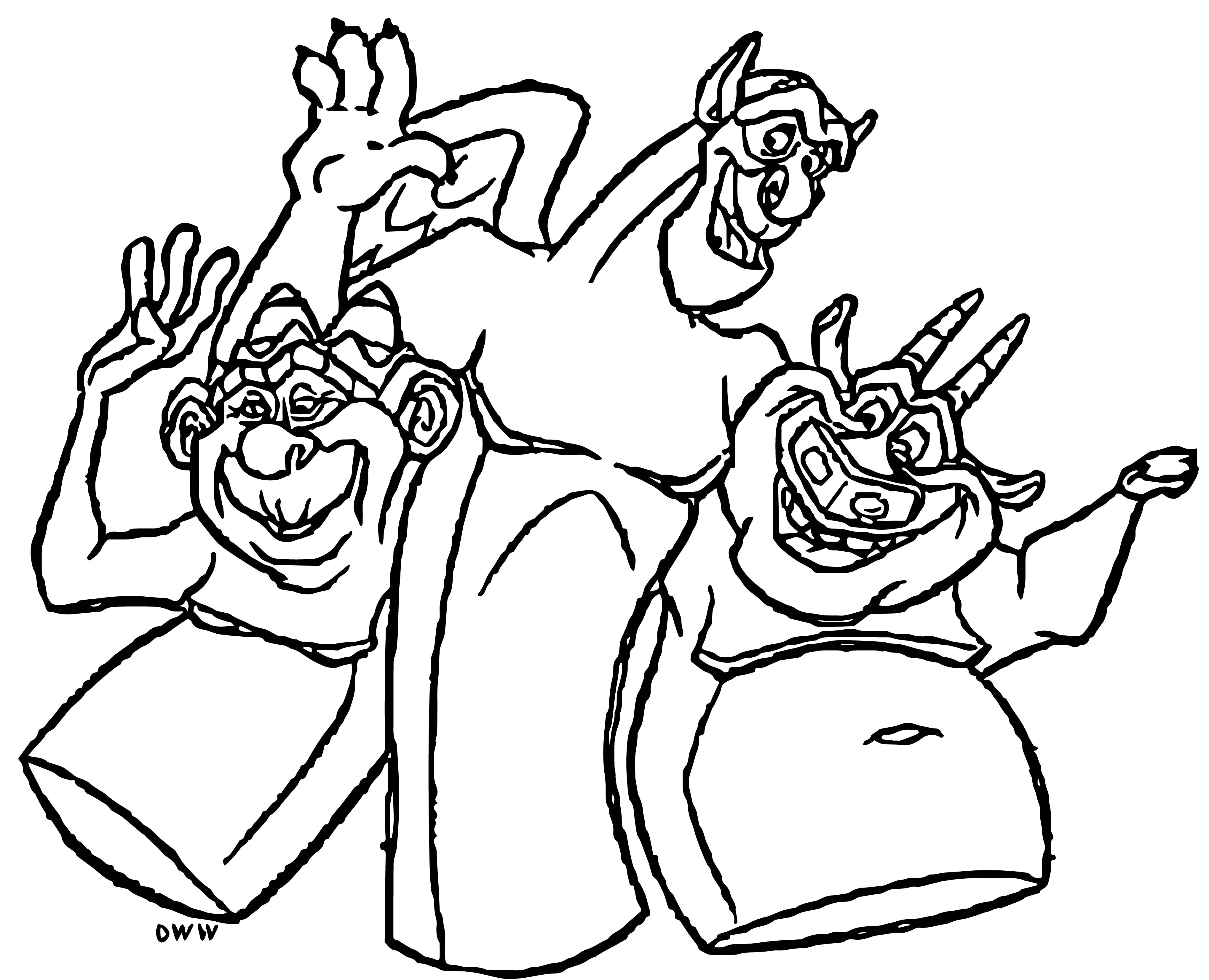 The Hunchback Of Notre Dame Mira20 Cartoon Coloring Pages