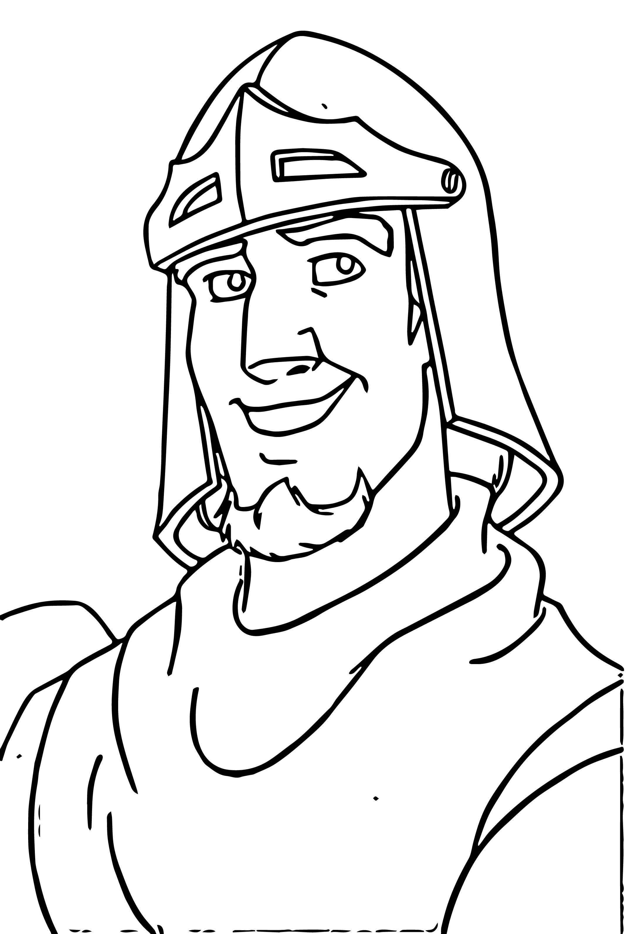 The Hunchback Of Notre Dame Phoebus3 Cartoon Coloring Pages