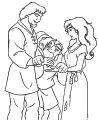 The Hunchback Of Notre Dame Quhands Cartoon Coloring Pages