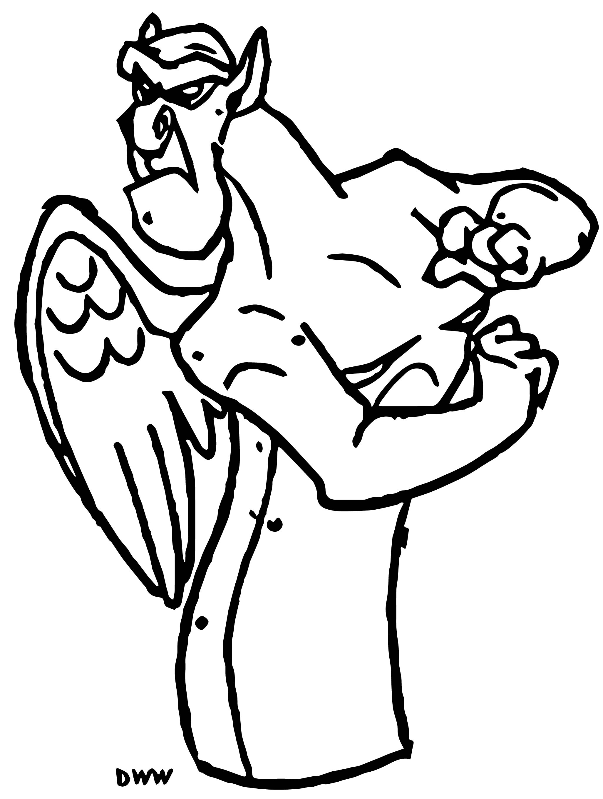The Hunchback Of Notre Dame Victor31 Cartoon Coloring Pages