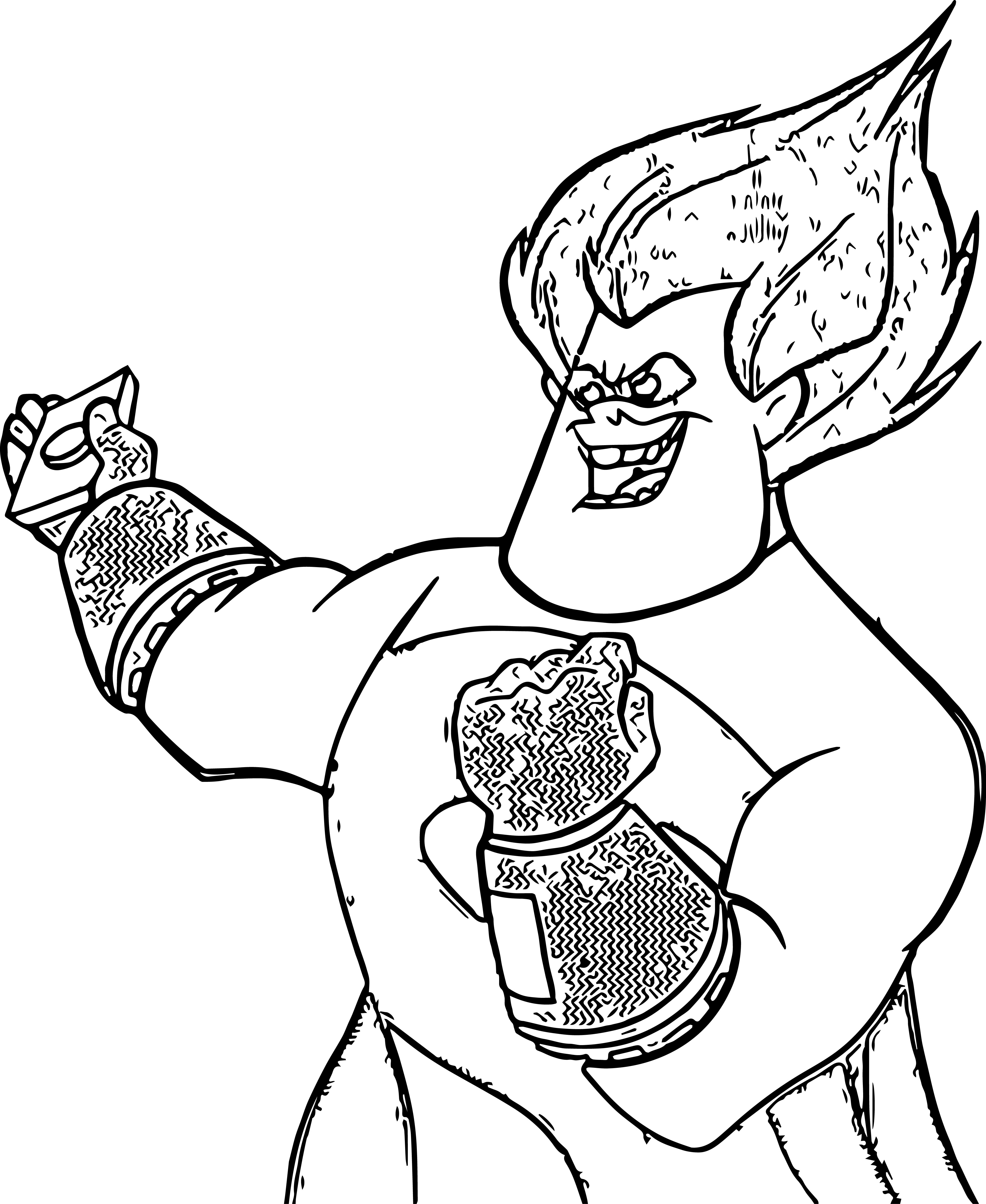 The Incredibles Coloring Pages 18
