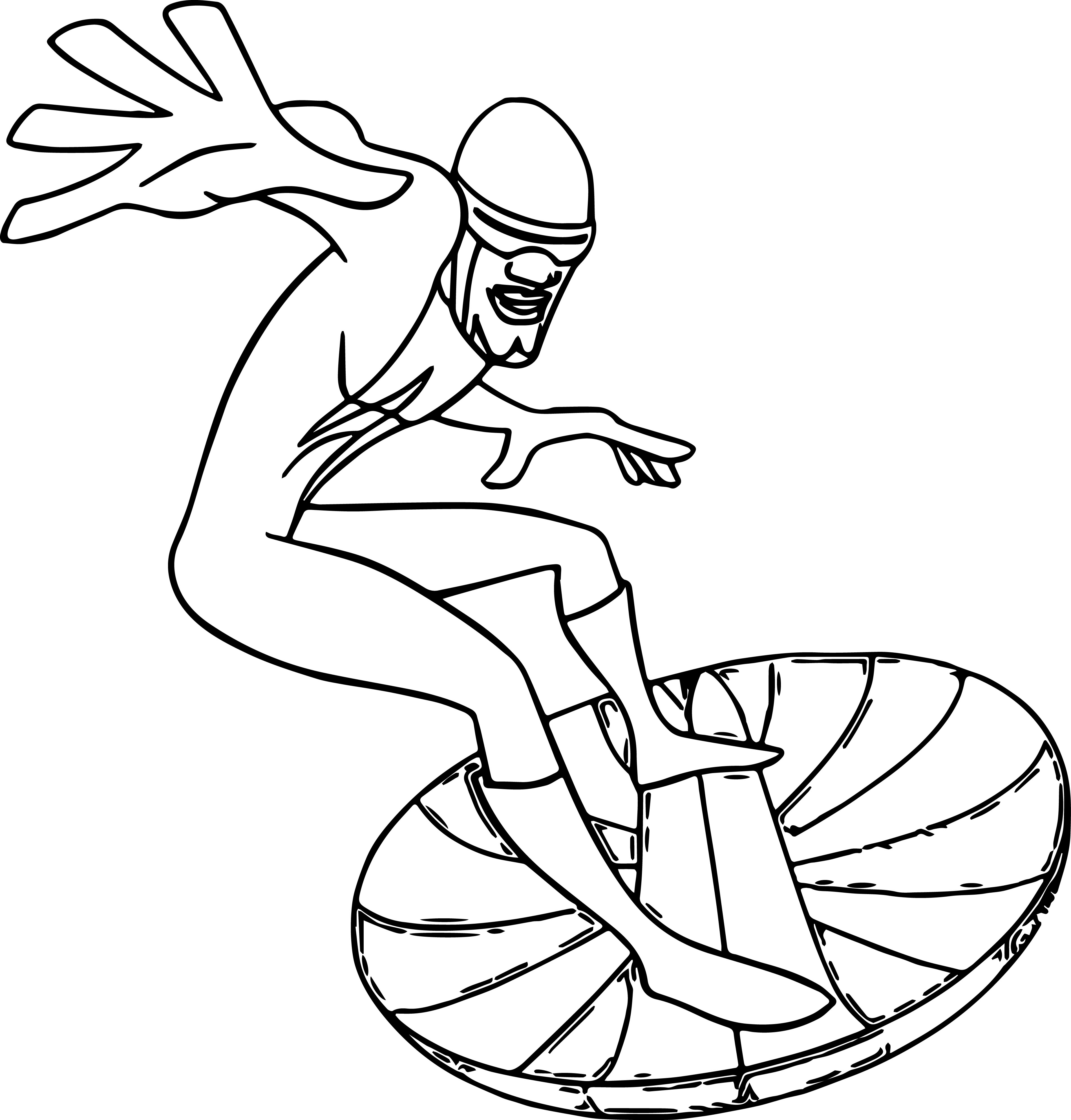 The Incredibles Coloring Pages 27