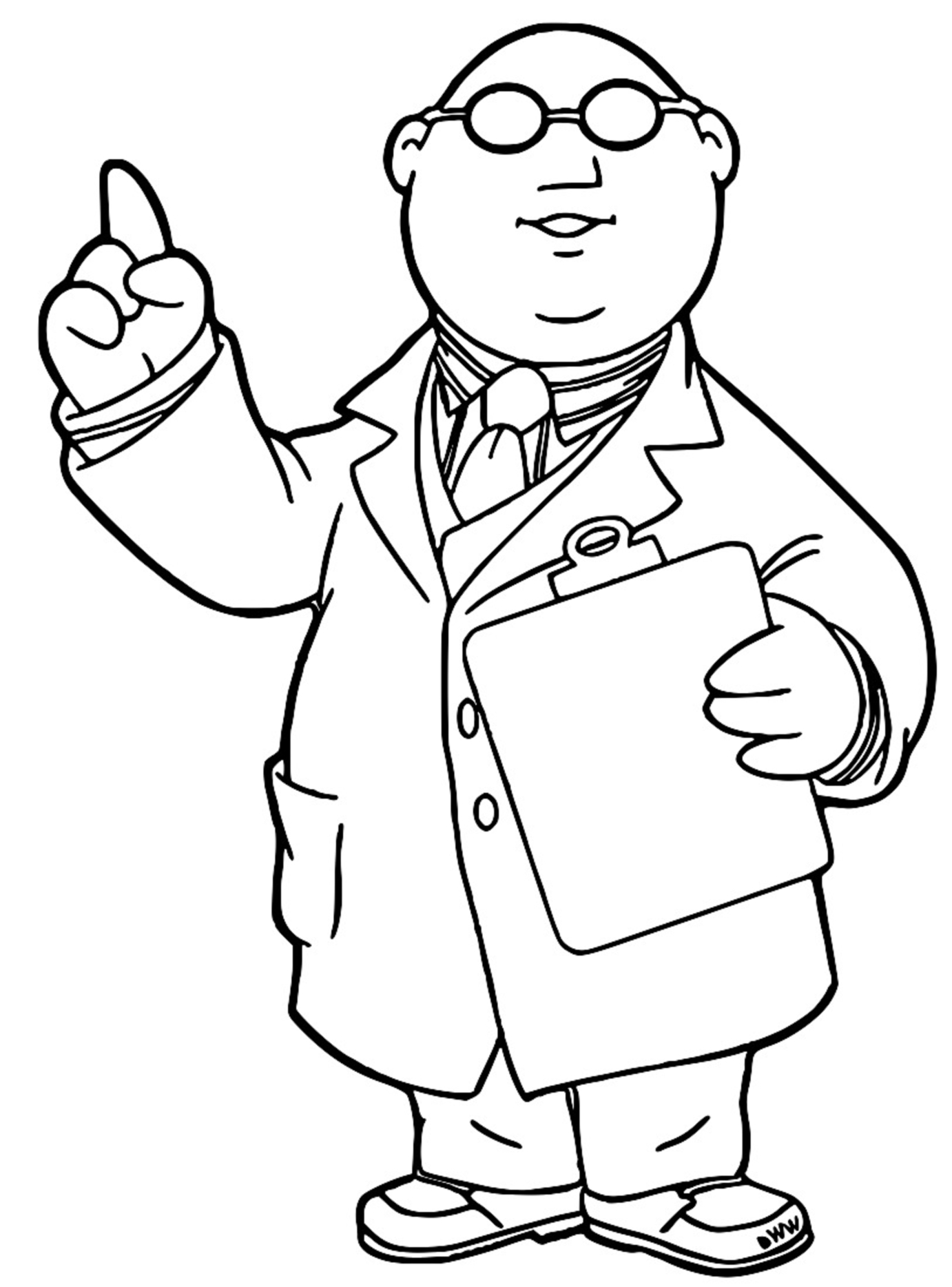 The Muppets honeydew Cartoon Coloring Page