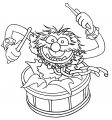 The Muppets muppets animal 4 Cartoon Coloring Page