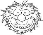 The Muppets muppets animal Cartoon Coloring Page