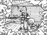 The Simpsons Coloring Page 222