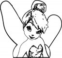 Tinkerbell We Coloring Page 05